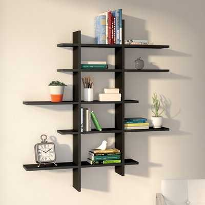 Baileyville 5 Shelf Asymmetric Wall Shelf - Wayfair