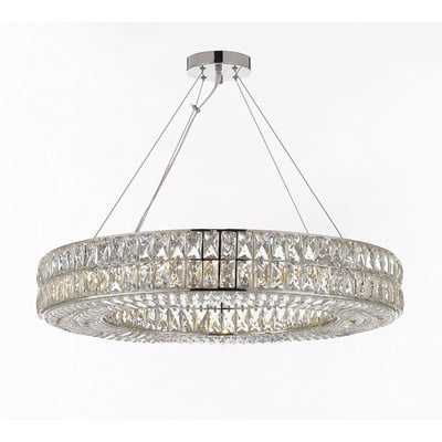 Hubbert Ring 16-Light Crystal Chandelier - Wayfair