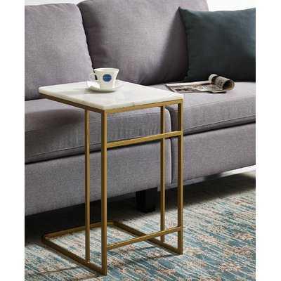 Chadwick Marble End Table - Wayfair
