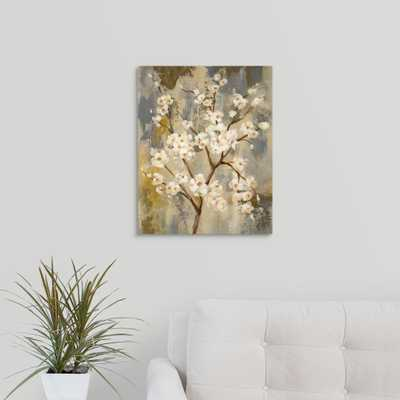 Neutral Branches I Crop by Silvia Vassileva Canvas Wall Art, Multi-Colored - Home Depot
