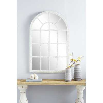 """John Large Cathedral Window Wall Mirror Ft. Pearl Shell Arched Mirror Frame, 31.5"""" x 48 - Wayfair"""