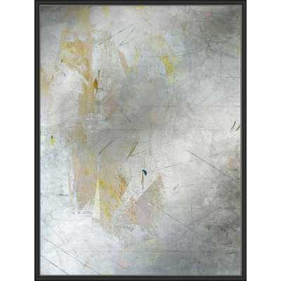 'Antique Mirror and Angles 1' Framed Graphic Art Print on Canvas - Wayfair