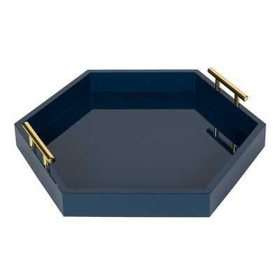 Hepner Hexagon Vanity Tray - Wayfair