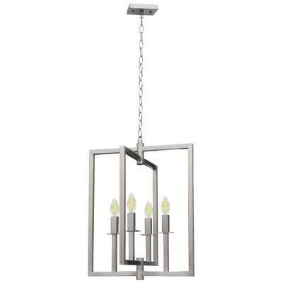 Pellegrino 4-Light Square Chandelier - Wayfair