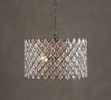 Arden Crystal Chandelier - Pottery Barn