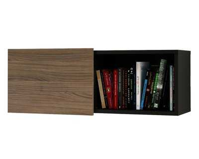 Avia Wall Shelf with Sliding Door - AllModern