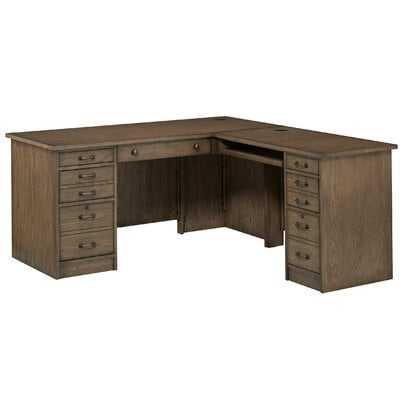 Gutshall L-Shape Executive Desk - Wayfair