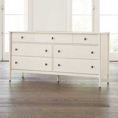 Gia Cream Ash 7-Drawer Dresser - Crate and Barrel