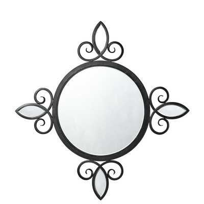 Iron Accent Mirror - Wayfair