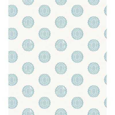 """Norita 33' x 20.5"""" Lise Medallion Wallpaper Roll - AllModern"""
