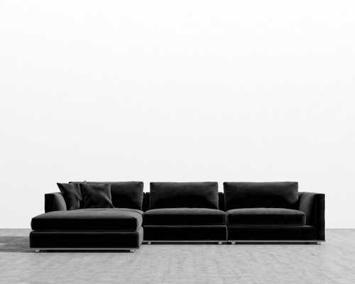Milo Modular Sectional - Black - Rove Concepts