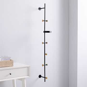 Floating Lines Wall Rack, Vertical - West Elm