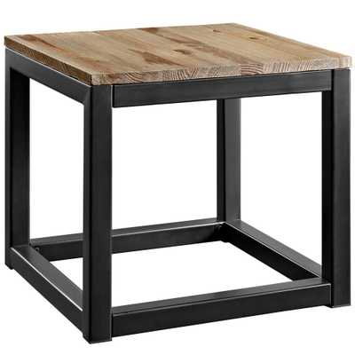 Brown Attune Side Table - Home Depot