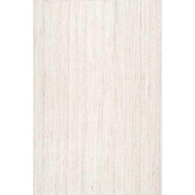 Burrillville Hand-Woven White Area Rug - Wayfair