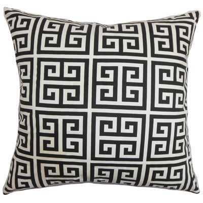 Kieffer Greek Key Floor Pillow - Wayfair