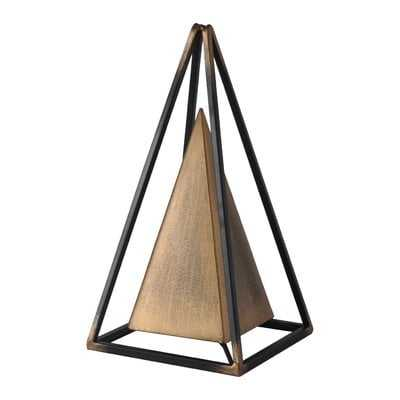 Inverness Metal Table Sculpture - Wayfair