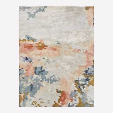 Flame Rug, Multi, 8'x10' - West Elm