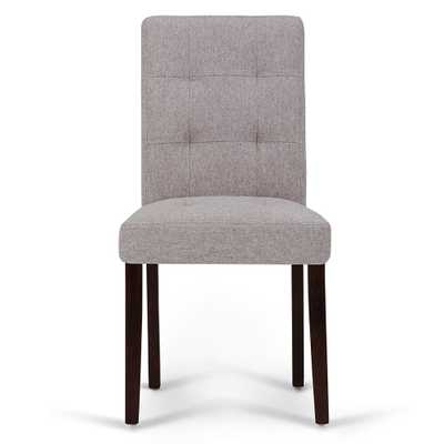 Andover Cloud Grey Dining Chair (Set of 2) - Home Depot