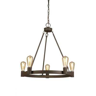 Luminosa 5-Light Oil Rubbed Bronze Chandelier - Home Depot