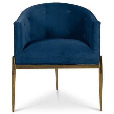 Art Deco Upholstered Dining Chair - Wayfair