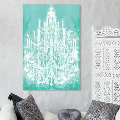 Privee Diamonds Mint Canvas Art - Wayfair