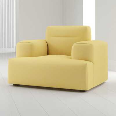 Kirby Deep Cushion Chair - Crate and Barrel