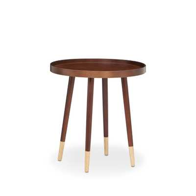 Dein End Table in Walnut (Brown) - Home Depot