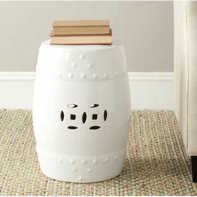 Gagnon Ceramic Garden Stool - Birch Lane