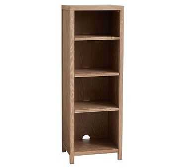 Charlie Bookcase Tower, Smoked Gray, Unlimited Flat Rate Delivery - Pottery Barn Kids