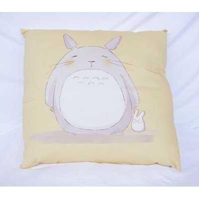 Krouse My Neighbor Totoro Cotton Throw Pillow - Wayfair
