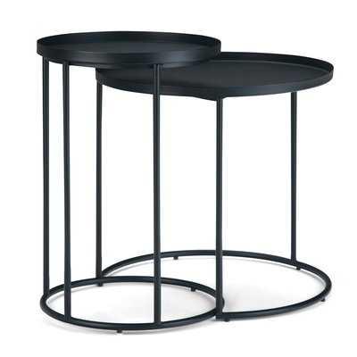 Higuchi 2 Piece Nesting Tables - Wayfair