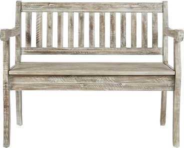 Leonora Wood Storage Bench - Wayfair