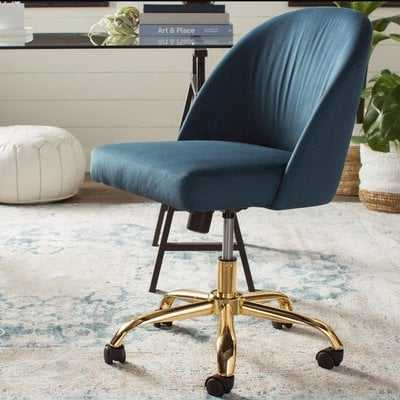 Mid-Back Desk Chair Azure - Wayfair