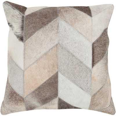 Mukurthi Poly Euro Pillow, Beige/Ivory - Home Depot