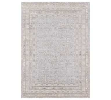 Lani Rug, 7.10 x 10.6', Grey Multi - Pottery Barn