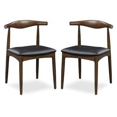Mcclurg Upholstered Dining Chair (set of 2) - Wayfair