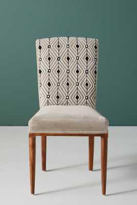 Elza Diamond Dining Chair - Anthropologie