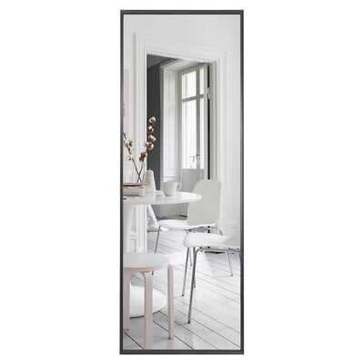 Aluminum Colorado Springs Wide Frame Full Length Mirror Wall-Mounted Mirror Standing Hanging Or Leaning Against Wall,Floor Mirror, Dressing Mirror - Wayfair