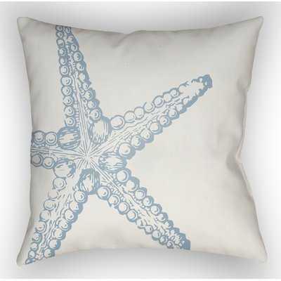 Brookline Nautical III Indoor/Outdoor Throw Pillow - Birch Lane