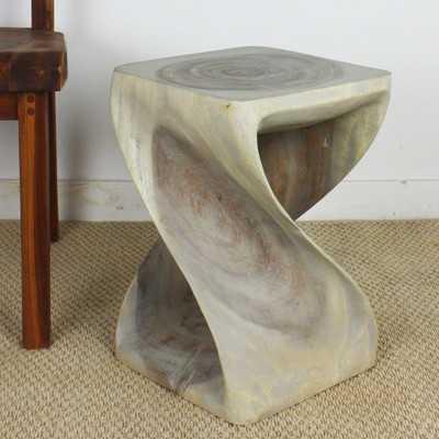 Selina Twist End Table - Wayfair