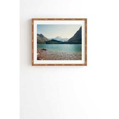 ' Catherine Mcdonald Glacier Summer ' Picture Frame Photograph on Wood - Wayfair