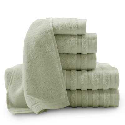 Arlington Pure Elegance 6 Piece 100% Turkish Cotton Towel Set - AllModern