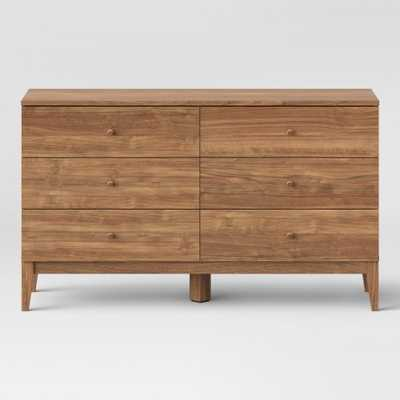Siegel 6 Drawer Dresser Walnut - Project 62 - Target