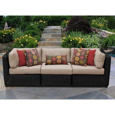 Fairfield Patio Sofa with Cushions - Wayfair