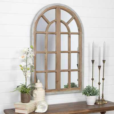 Athena Farmhouse Arch Wall Mirror - Home Depot