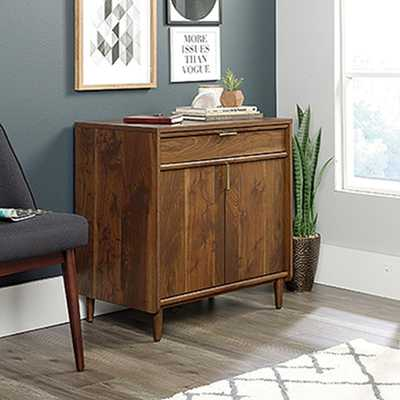 Clifford Place Grand Walnut Library Base Cabinet - Home Depot