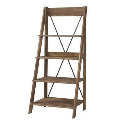 Rowley Solid Wood Ladder Bookcase - Wayfair