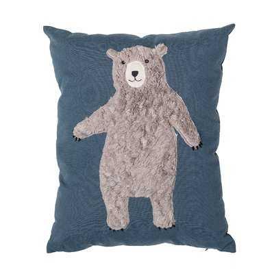 Dimaggio Bear Throw Pillow - Wayfair