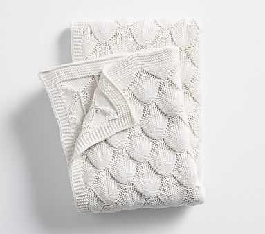 Bubble Knit Baby Blanket , Ivory - Pottery Barn Kids