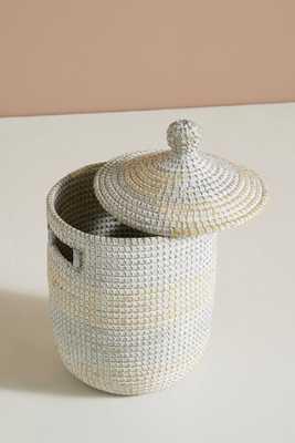 Washed Seagrass Basket - Anthropologie